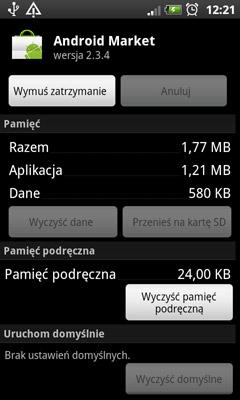 Usługi android system