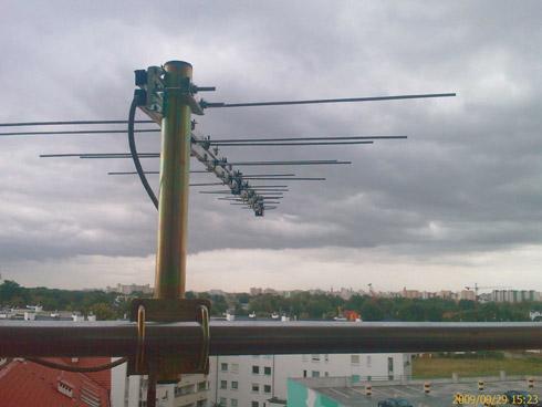 Prawidłowe umieszczenie anteny