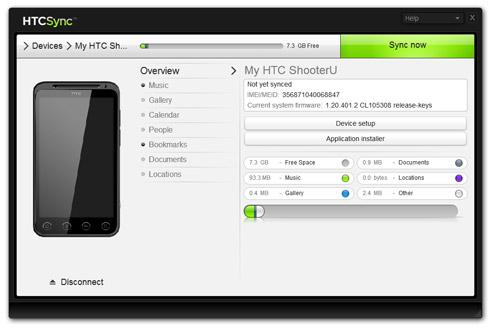 Synchronizacja telefonu HTC na Androidzie z Windowsem