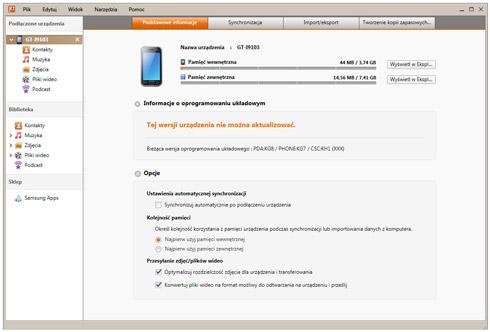 Synchronizacja telefonu Samsung na Androidzie z Windowsem