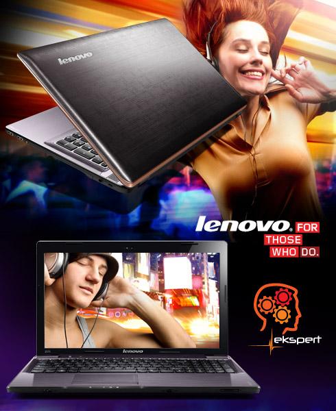 Lenovo IdeaPad - laptopy multimedialne