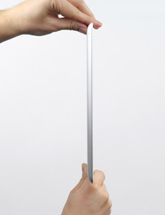 iPad 3 cienki tablet
