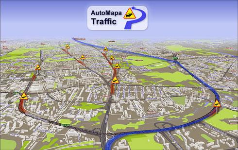 AutoMapa Traffic