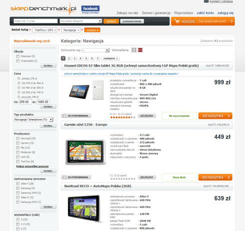 GPS sklep.benchmark.pl