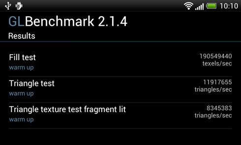 HTC One V - GLBenchmark 2