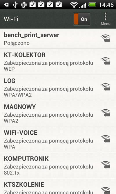 HTC One V - WiFi