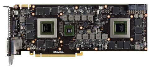 GTX 690 - płytka PCB