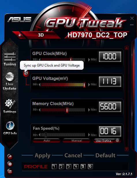Funkcje - GPU Tweak