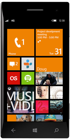 Windows Phone 8 - kafelki