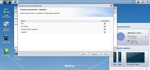 Synology DiskStation DS212 - oprogramowanie