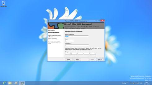 Windows 8 - starsze oprogramowanie