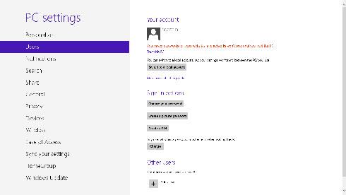 Windows 8 - konta i uprawnienia