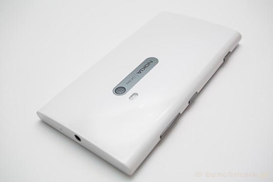 Nokia Lumia 920 - góra bok obiektyw