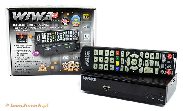 Wiwa HD90 Memo Control dekoder STB DVB-T
