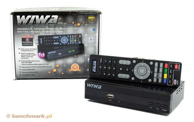 Wiwa HD95 Memo Control dekoder STB DVB-T
