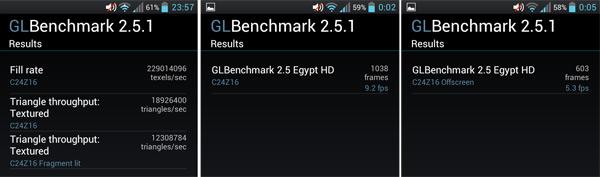 LG L9 GLBenchmark