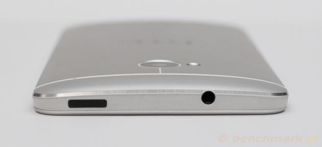 HTC One górna krawędź