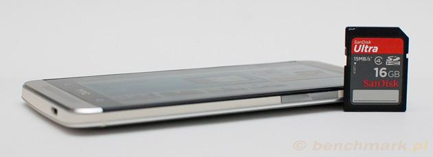 HTC One karta pamięci