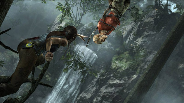 Tomb Raider - screen z gry