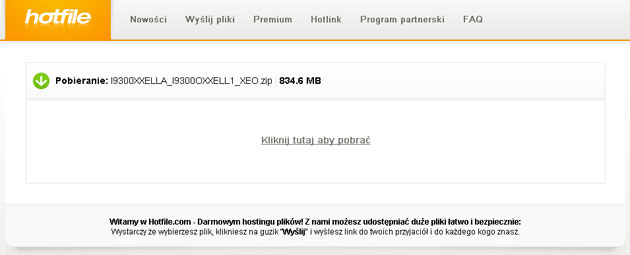 Pobierz nowy system Android 4.1.2