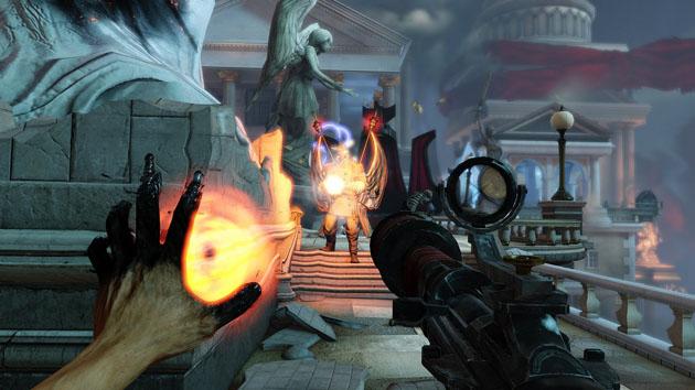 Bioshock: Infinite - broń