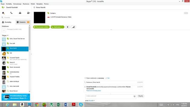 Skype w Windows 8