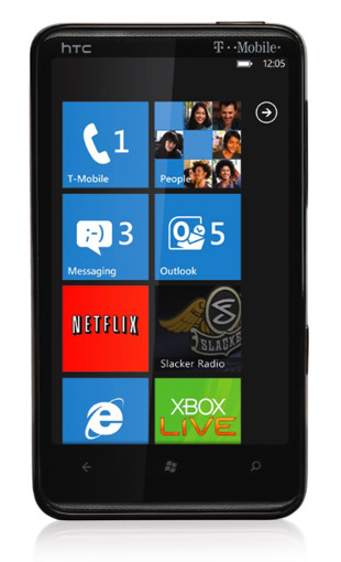 Windows Phone 7 na smartfonie