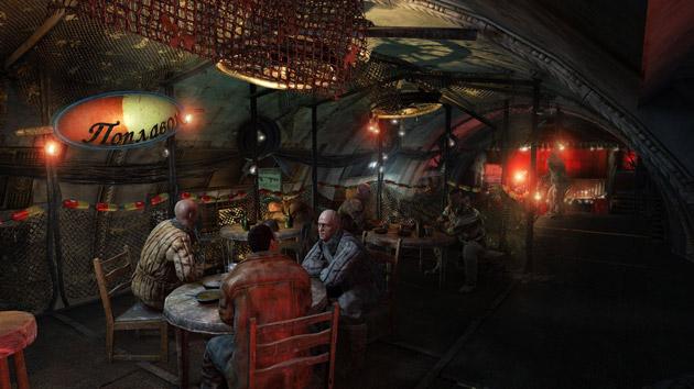 Metro: Last Light - screen z gry
