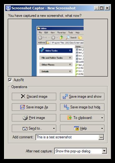 Screenshot Captork