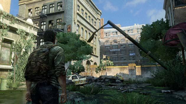 The Last Of Us - opuszczone miasto