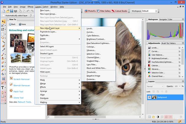PhotoPlus Starter Edition