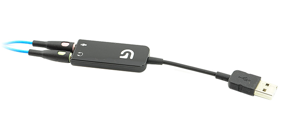Logitech G430 karta dźwiękowa