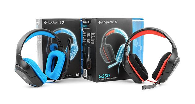 Logitech G430 oraz G230