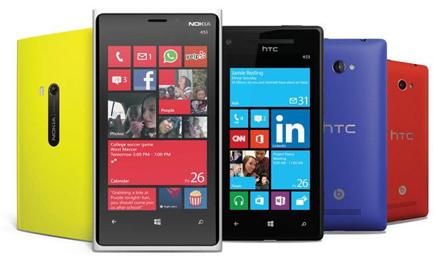 Telefony z Windows Phone 8