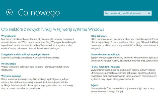 Windows 8.1 co nowego?