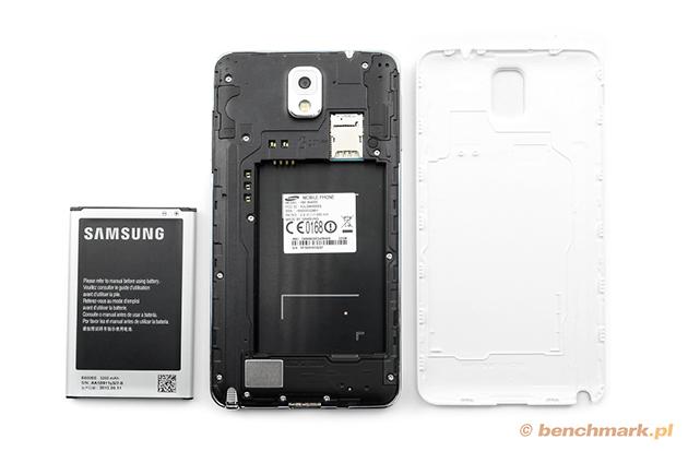 Samsung Galaxy Note 3 wnętrze