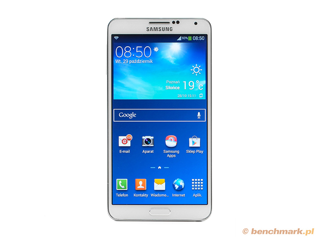 Samsung Galaxy Note 3 przód