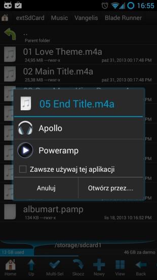 wybór domyślnej aplikacji android