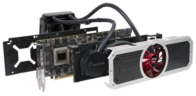 AMD Radeon R9 295X części chłodzenia