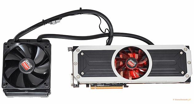 AMD Radeon R9 295X zestaw z chłodzeniem
