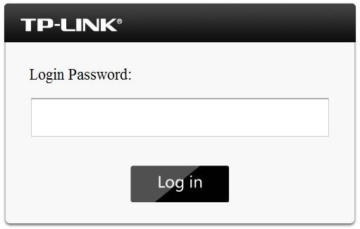 TP-LINK M5350 - logowanie