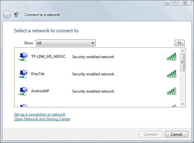 M5350 - sieć WiFi
