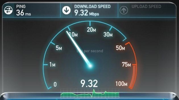 TP-LINK M5350 - speedtest
