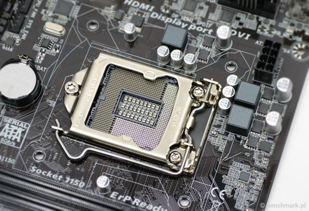 Gigabyte GA-H81M-HD3 slot na procesor
