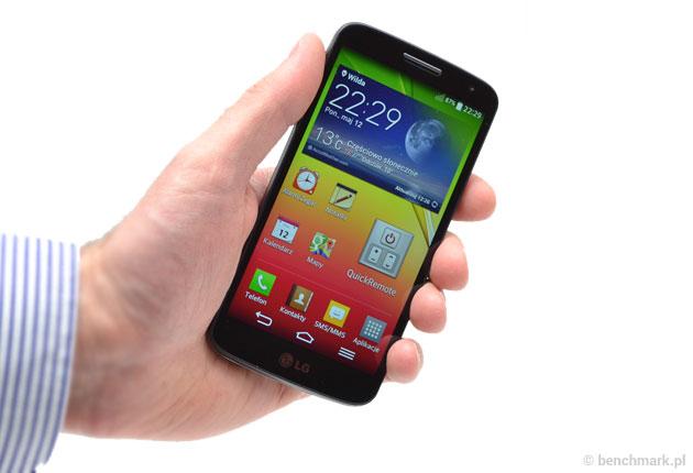 LG G2 mini  w ręce
