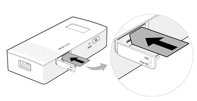 TP-Link M5360 - karta SIM