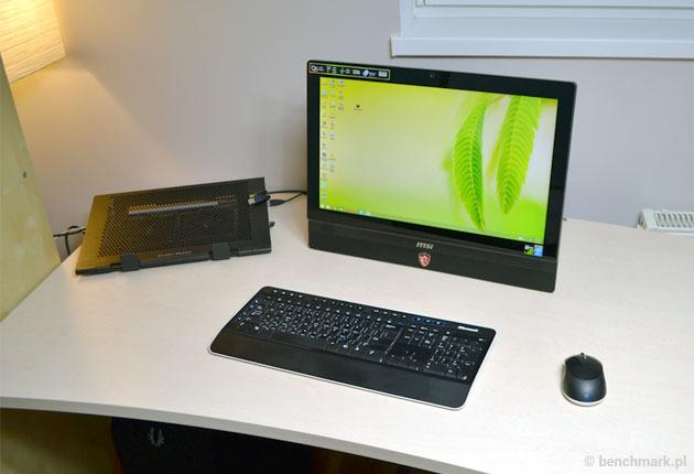 MSI AG220 - oszczędność miejsca na biurku