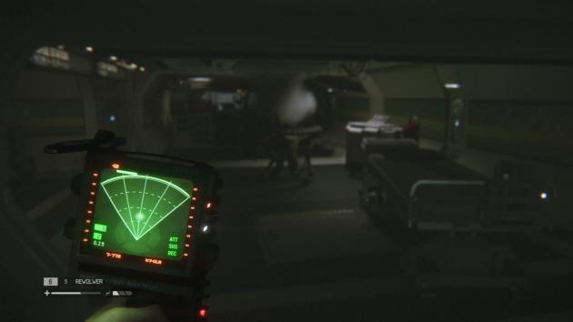 Obcy: Izolacja radar