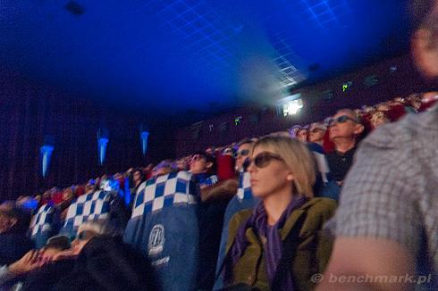 Projekcja film 3D