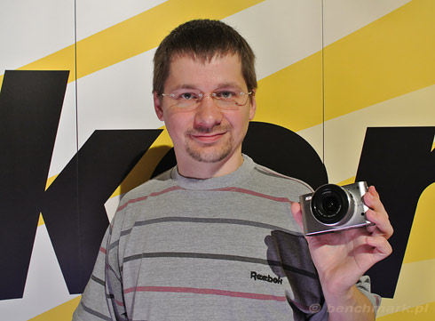 Nikon 1 J1 rozmiar
